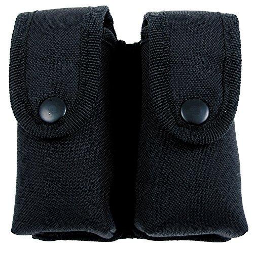 porte chargeur double, noir, double, ceinturon 22603