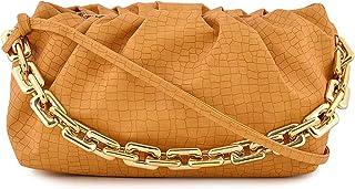 Pefrio Lady Bags Popular Fashionable Ladies Different colors Crocodile Pattern Cloud Flap shape Women and Girls Shoulder B...