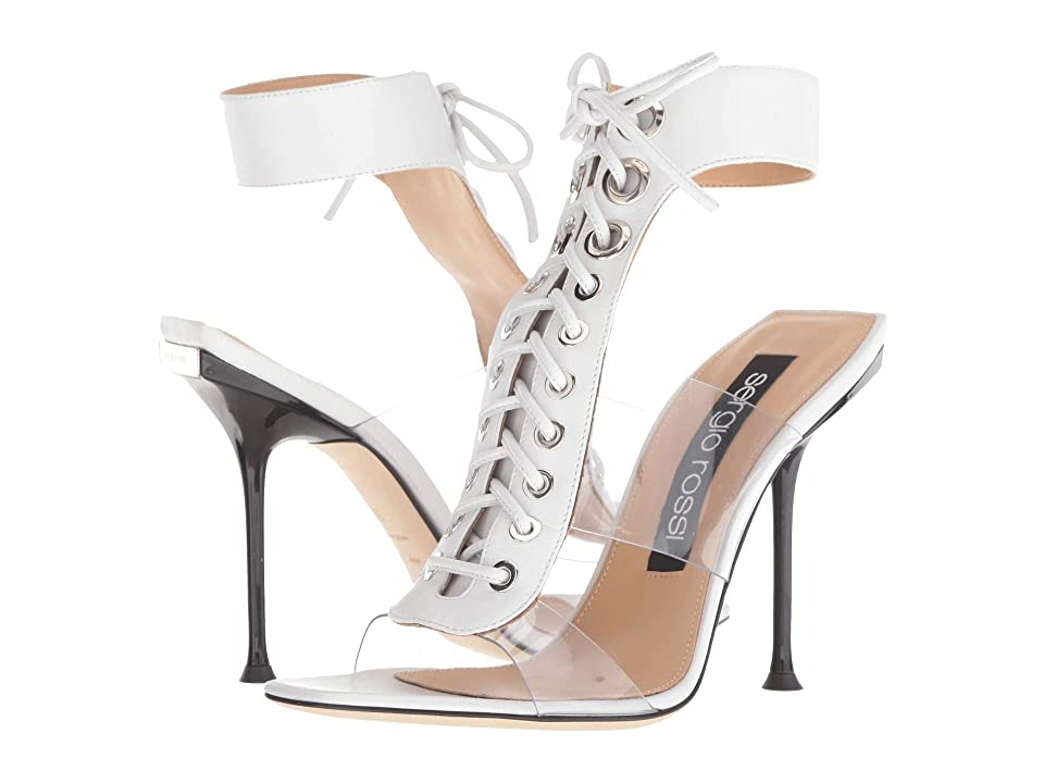 Sergio Rossi A82890-MFN458 (White) High Heels
