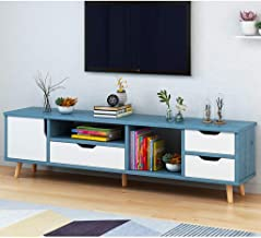 Multipurpose TV Console Dispaly TV Stand Storage Unit with Drawers and Open Storage Shelf Cabinet Storage TV Media Stand E...