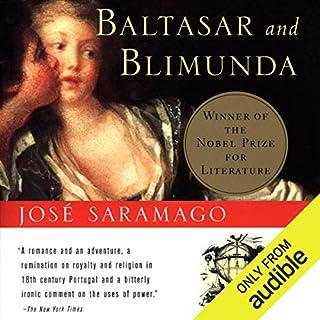 Baltasar and Blimunda audiobook cover art