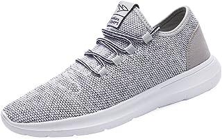 کفش های مردانه KEEZMZ مد کفش های کتانی تنفس مش نرم تنها گاه به گاه وزن سبک وزن ورزشی