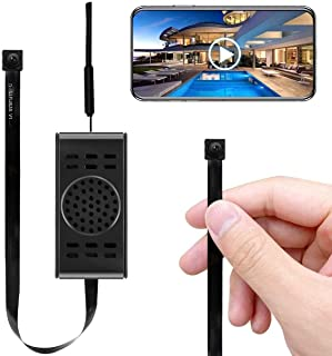 Spy Camera WiFi Hidden Cameras with Motion Detection, Mini Wireless Remote Live View with Free Phone App Full HD 1080P, Ea...