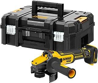 DEWALT DEWDCG409NT DCG409NT XR FlexVolt Advantage Grinder 125mm 18V Bare Unit, Black/Yellow