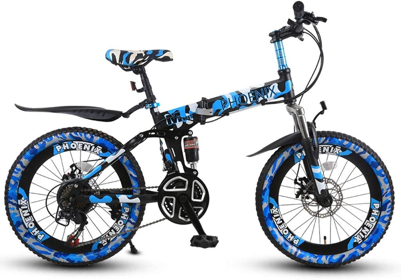 calidad auténtica Bicicletas Triciclos Infantil De De De 20 Pulgadas Montaña Plegable Viaje Al Aire Libre Los Estudiantes Van A La Escuela Adecuado para Niños  ordene ahora los precios más bajos