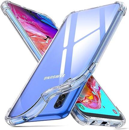 """ORNARTO Funda Samsung A70,A70 Carcasa Silicona Transparente Protector TPU Airbag Anti-Choque Ultra-Delgado Anti-arañazos Case Caso para Teléfono Samsung Galaxy A70(2019) 6,7"""" Claro"""
