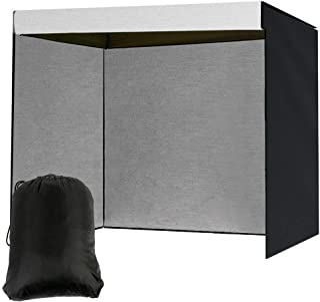 per mobili resistente in tessuto Oxford 190T Copertura per altalena da giardino a 3 posti con cerniera per amaca a baldacchino beige