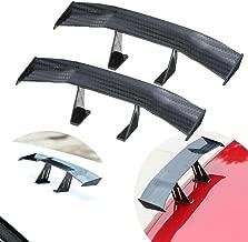 UBOOMS Mini Spoiler Auto Car Tail Decoration Spoiler Wing Carbon Fiber 2 Pack-Amazon