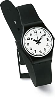 Women's LB153 Something New Black Plastic Watch