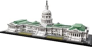 LEGO Architecture 21030 Kit de construcción del Capitolio de los Estados Unidos (1032 piezas)