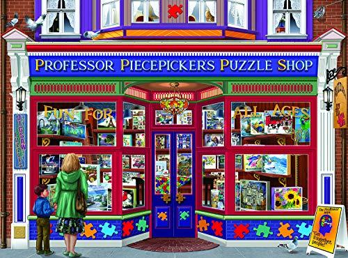 Professor Piecepickers Puzzle Shop 1000 pc Jigsaw Puzzle by SUNSOUT INC