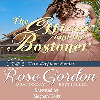 The Officer and the Bostoner audiobook cover art