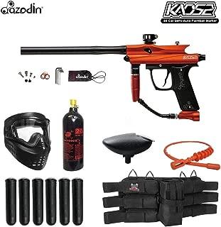 orange paintball gun