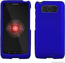 Protective Case For Motorola Droid Mini XT1030 Slim Two Piece Snap On Case Hard Plastic Rubberize Feel Dark Blue