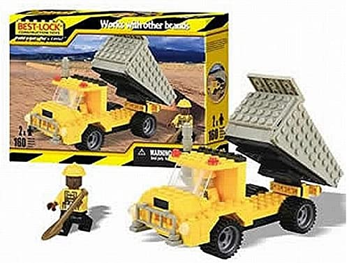Best-lock Construction Toys Dump Truck