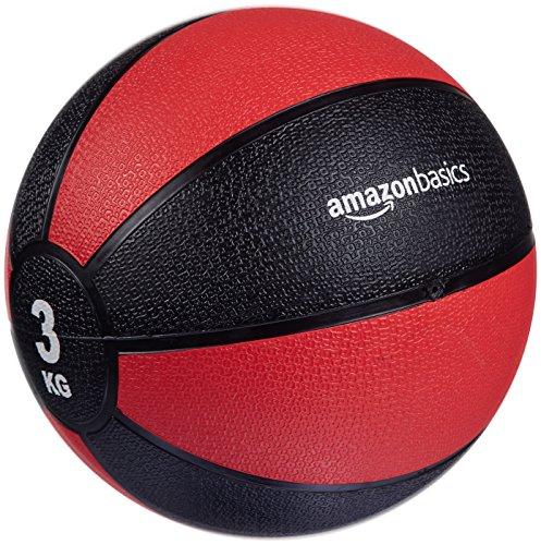 AmazonBasics - Balón medicinal, 3 kg
