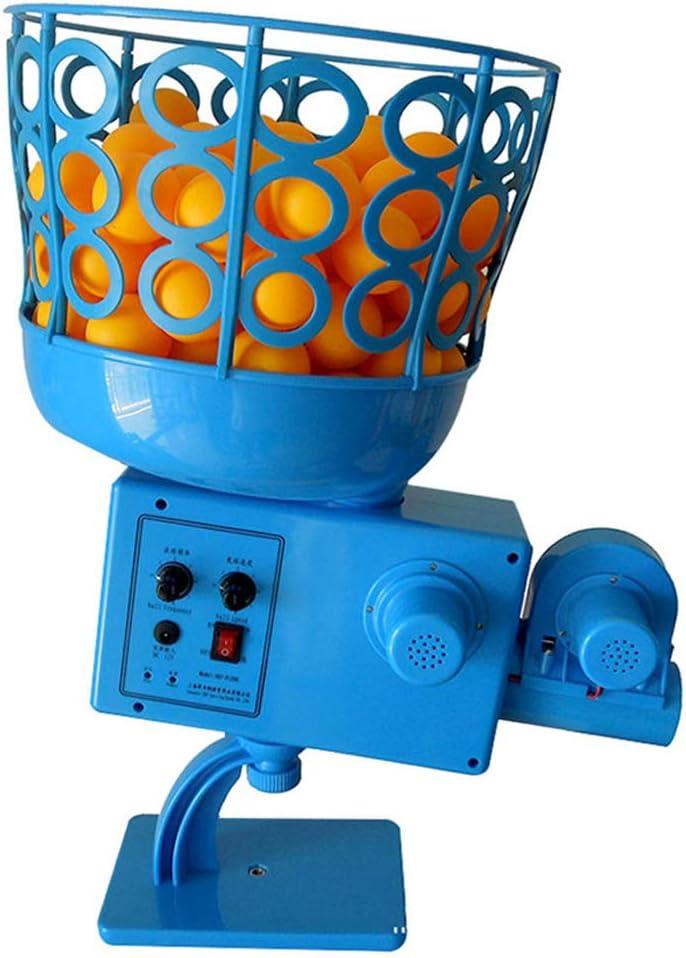 NANANA Lanzador de Tenis de Mesa, Máquina Automática Portátil de Ping-Pong para Entrenamiento con Robot de Pelota de Ping-Pong para Niños en Interiores y Exteriores, 130x248x460mm