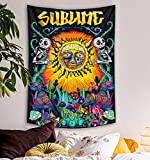 Lifeel Trippy Sublime Sun Tapestry Wall...