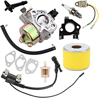 Yermax 16100-ZF6-V01 Carburetor with Ignition Coil Tune Up Kit for Honda GX390 13HP Engine Motor Generator Pressure Washer