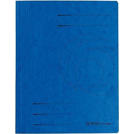 10er Packung Farbe blau Herlitz 11094703 Schnellhefter A4 Colorspan