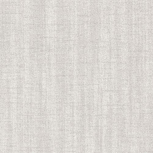 Shimmering Seashell Gray Vinyl Wallpaper For Walls - Double Roll - By Romosa Wallcoverings