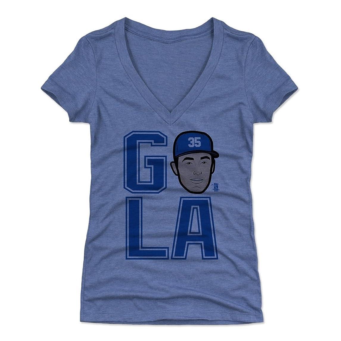 500 LEVEL Cody Bellinger Women's Shirt - Los Angeles Baseball Women's Apparel - Cody Bellinger GO LA