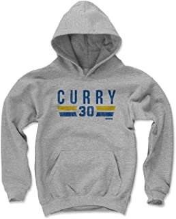 500 LEVEL Steph Curry Golden State Basketball Kids Hoodie - Steph Curry Golden State Font