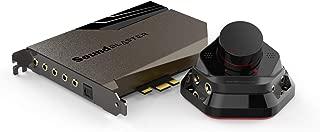 Sound Blaster AE-7 高分辨率PCIe DAC 和扩音器声卡带离散Xamp耳机双扩音器和音频控制模块(灰色/黑色)