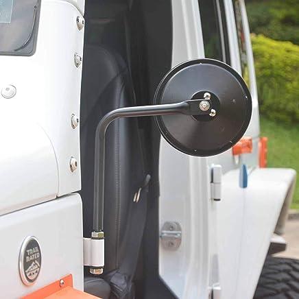 L/&U 4 poign/ées de poign/ée pour Jeep Wrangler YJ TJ JKU Sports Sahara Freedom Rubicon X et Unlimited X 2//4 Door Roller 1995-2018,Blue