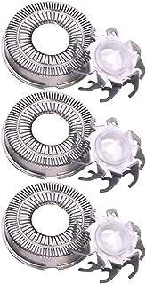 Beaupretty 3 peças de cabeças de substituição para barbeador elétrico, corte fácil para todas as lâminas padrão 1