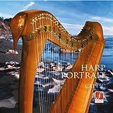 Harp Portrait Celtic...