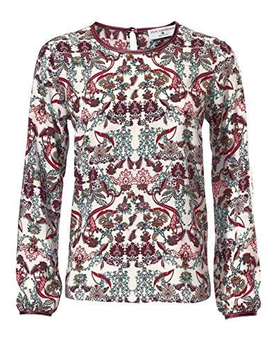 RICK CARDONA Damen Designer-Bluse, bunt, Größe:48