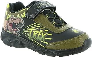 Jurassic World Boys Lighted Athletic Shoes Toddler/Little Kid