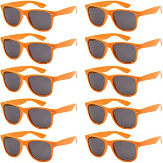 2cceaeb7f92 WHOLESALE UNISEX 80 S RETRO STYLE BULK LOT PROMOTIONAL SUNGLASSES - 10 PACK