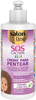 Creme para Pentear 300 ml SOS Kids Unit, Salon Line