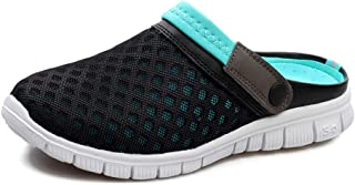 Men's Women's Breathable Mesh Slippers Garden Shoes Beach Sandals Non-Slip Lightweight Hollow Outdoor Sports and Leisure S...