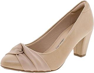 Sapato Feminino Salto Médio Modare - 7305132 Bege