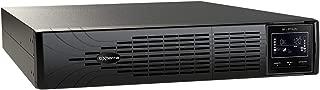 bXterra 1500VA UPS SP1500LCDRTXL2U Smart Sine Wave UPS Battery Backup, Extended Runtime, Enhanced LCD, 8 Outlets, AVR, SNMP, RJ11/RJ45, EPO, Energy Star, 2U Rack/Tower