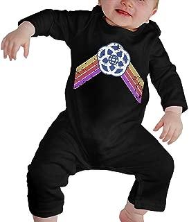 HOUFOUCC Epcot Center - Faded Glory Baby Onesie Organic Long-Sleeve Bodysuit