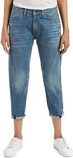 rag & bone Women's Engineer Cropped Boyfriend Jeans