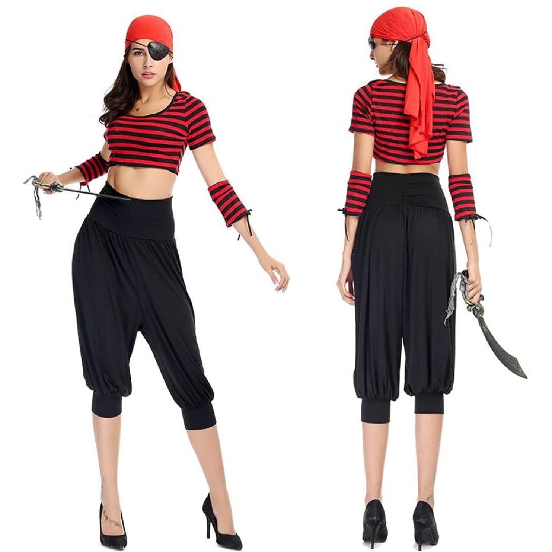 低下バター保守可能monoii 海賊 コスプレ レディース ハロウィン コスチューム パイレーツ 衣装 仮装 c603