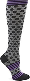 EKG Heart and Holiday Compression Trouser Socks