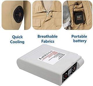 Fovely Accesorios de acondicionadores de Aire móviles, batería para Aire Acondicionado Ropa Ventilador de refrigeración Ropa Piezas
