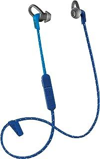 Plantronics BackBeat FIT 305 Sweatproof Sport Earbuds, Wireless Headphones, Dark Blue/Blue