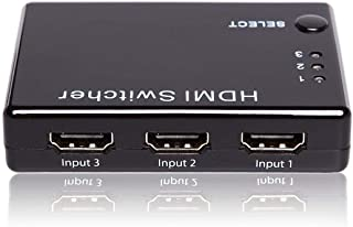 HDMI Switcher By Eton, Black, 3 input, ET-01CH