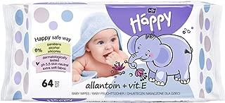f/ür zarte und empfindliche Babyhaut geeignet bella baby Happy Feuchtt/ücher mit Allantoin /& Vitamin E 41x 64 St/ück