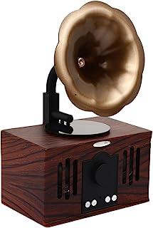 Retro Bluthtooth Speaker Wireless Bluetooth Speaker Universal Double Speakers FM Radio Loudspeaker Home Dector