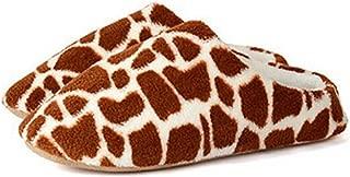 WYSBAOSHU Coral Fleece Lovers Slippers Cotton-Padded Floor Slippers Women Men Indoor Shoes