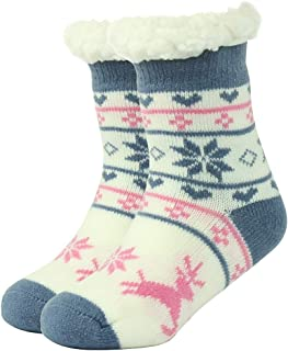 Womens//Girls Cute Cartoon Black And White Face Puppy Casual Socks Yoga Socks Over The Knee High Socks 23.6