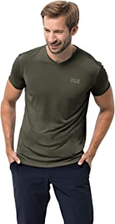 Jack Wolfskin Jwp T Men's Quick Drying Odor Inhibiting Travel T-Shirt